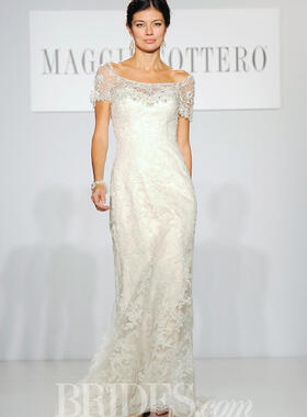 Maggie Sottero catwalk from Brides.com