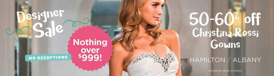 Bridal Outlet | Designer Wedding Gowns at Discounted Prices